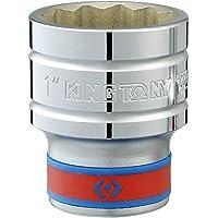 Soquete Estriado 11/16 - 1/2, Kingtony Br 433022Sr