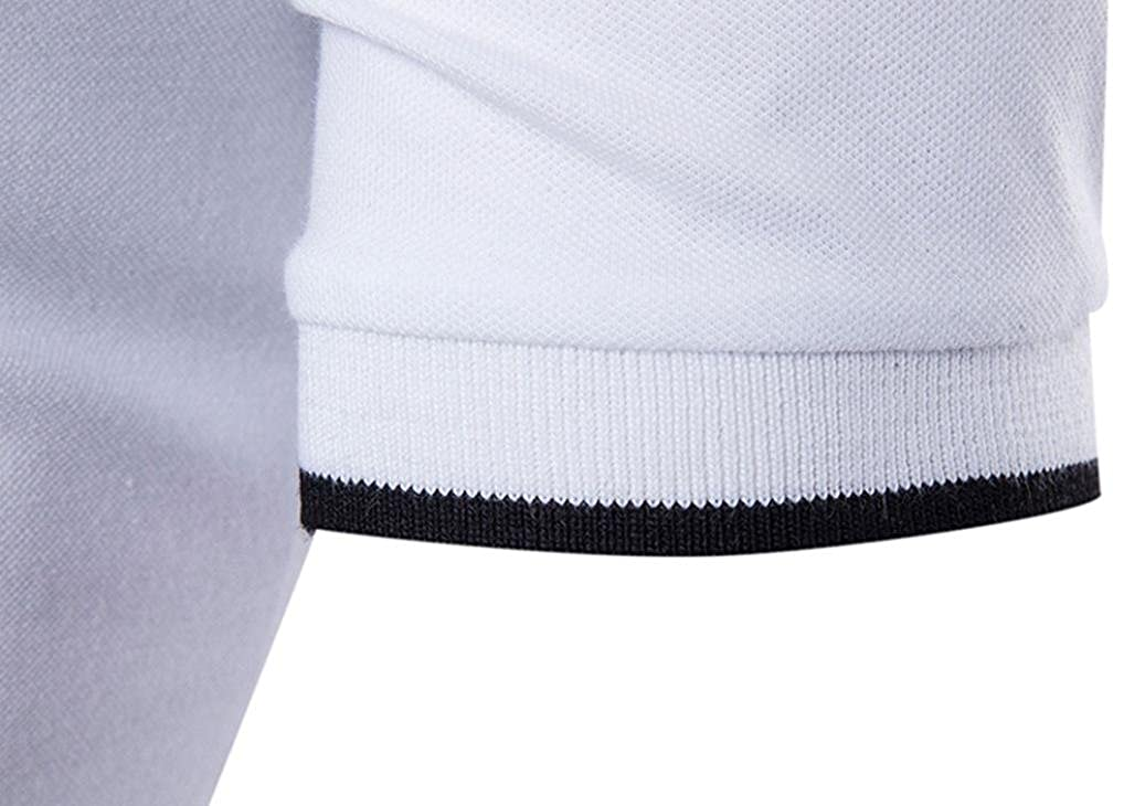 Naturazy Ocio Polos Deportes para Hombres Camiseta De Golf Tenis con Mangas Cortas Camisas De Manga Corta Ropa Informal para Hombres Camisas para Hombre ...