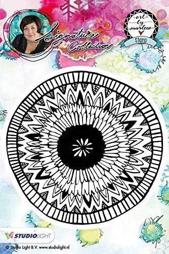 Studio Light Art by Marlene Flowers Cling Stamp