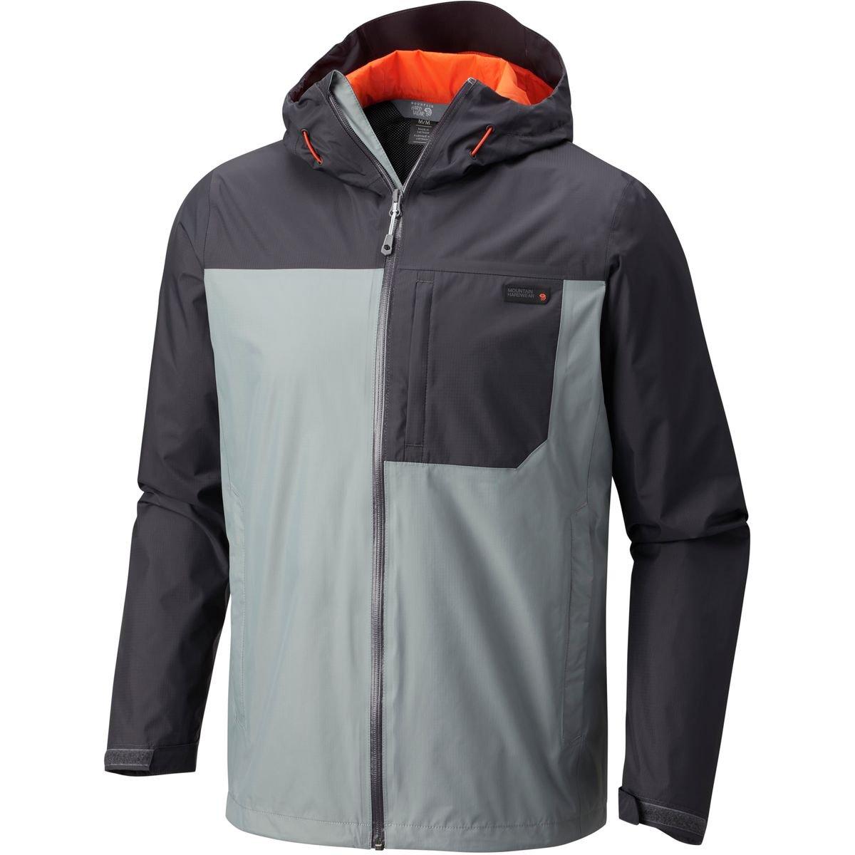 マウンテンハードウェアdynostryke Jacket – Men 's B07124KVPL Small Manta Grey/Sha Manta Grey/Sha Small