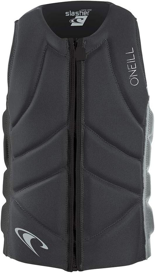O'Neill メンズ Slasher Comp ウォータースポーツ 水上スキー ジェットスキー ウェイクボード 安全 インパクトベスト - トップ グラファイト クールグレー 4917EU - 簡単  X-Large