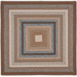 Safavieh Braided 8 X 10 Hand Made Rug in Brown