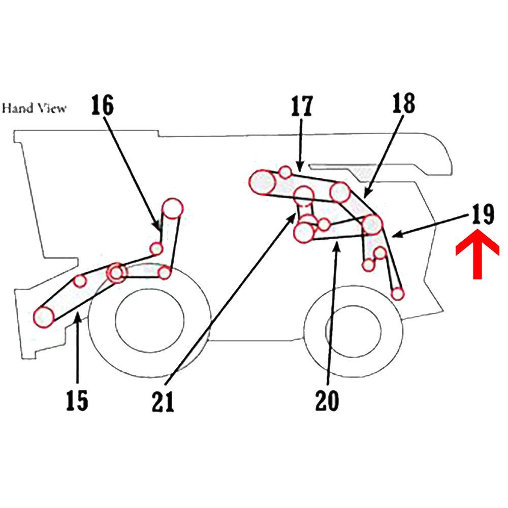 35 John Deere Lx277 Drive Belt Diagram