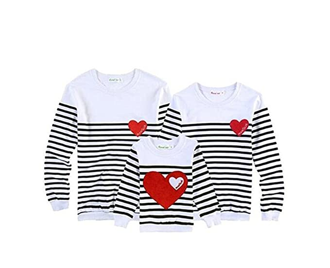 838e7b97 BCSY Family Matching Clothing Soft Cotton Shirt Matching Mother Daughter  Clothes Family Look Style Father Mother