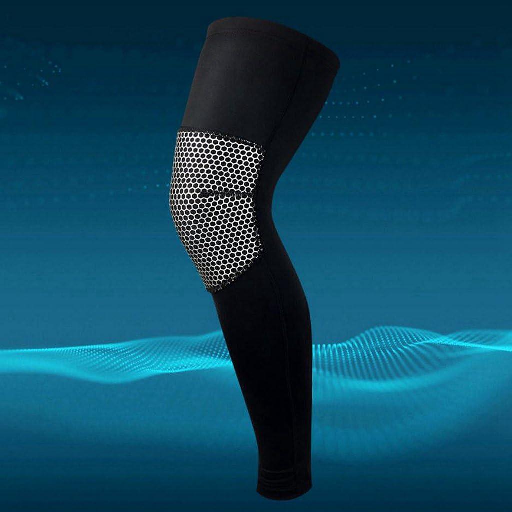 1 St/ü SM SunniMix Wabenpolster Crashproof Antislip Basketball Leg Knie Langarm