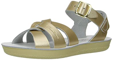 babc71d2dd91e Salt Water Sandals by Hoy Shoe Girls  Sun-San Swimmer Flat Sandal