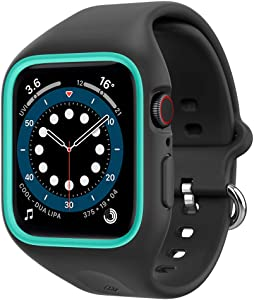 Caseology Nano Pop for Apple Watch Case for 40mm Series 6 (2020) SE (2020) 5 (2019) 4 (2018) - Prune Charcoal