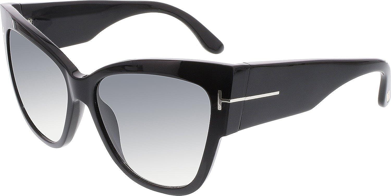 2be4f7f5f931 Tom Ford Women s FT0371 01B 57 Sunglasses