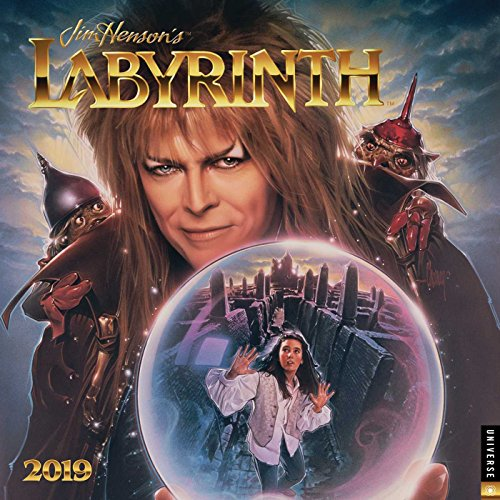 Jim Henson's Labyrinth 2019 Wall Calendar, used for sale  Delivered anywhere in USA