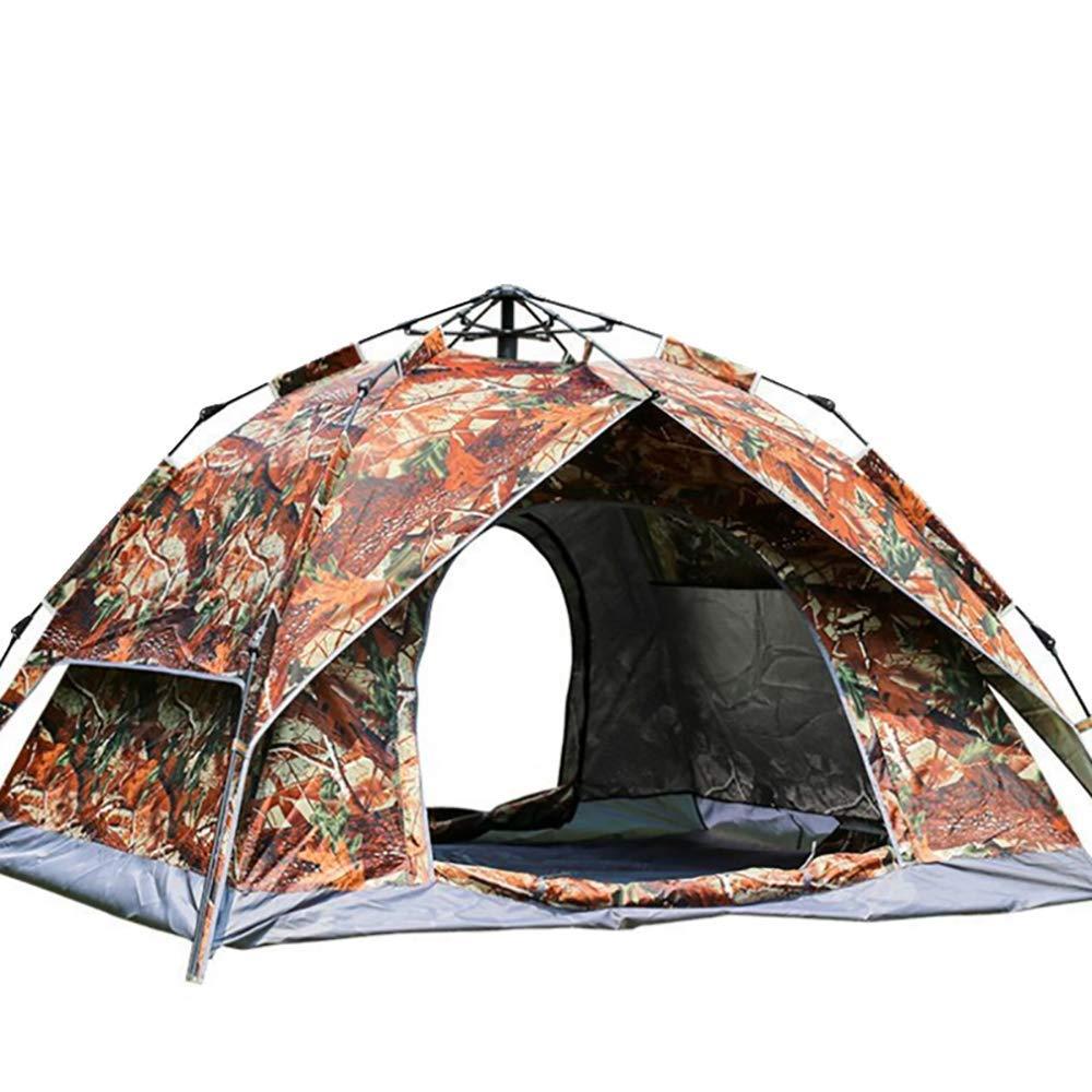 Qifengshop Couleur imperméable de Camouflage imperméable de Double Couche de Camping de Tente extérieure de Personne 3-4, 200X230X140cm  -