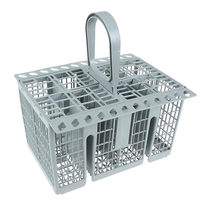 10 opinioni per Spares2go posate gabbia cestino per lavastoviglie Hotpoint (grigio)
