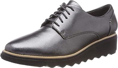 Tomar un riesgo Vacío Destructivo  Clarks Sharon Noel, Zapatos de Cordones Derby Mujer: Amazon.es: Zapatos y  complementos