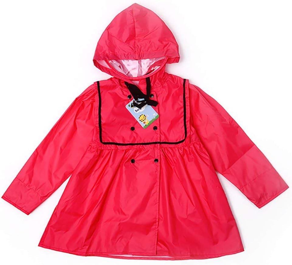 SLR Cute Sweet Waterproof Princess Raincoat One-Piece Hooded Poncho