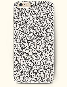 Millions Beige Cat - Cute Animal - Phone Cover for Apple iphone 6 4.7 ( 6 4.7.6 4.7 inches ) - OOFIT Authentic iPhone Case