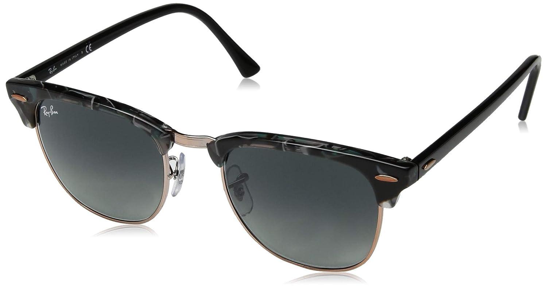 96e227a768ea4 Amazon.com  Ray-Ban Men s Clubmaster Square Sunglasses