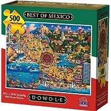 Dowdle Jigsaw Puzzle - Best of Mexico - 500 Piece