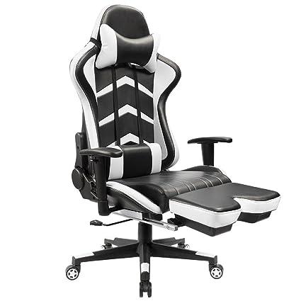 Amazon Com Furmax Gaming Chair High Back Racing Chair Ergonomic