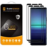 (2 Pack) Supershieldz Designed for Sony (Xperia 5 II) Tempered Glass Screen Protector, (Full Screen Coverage) Anti Scratch, B