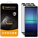 (2 Pack) Supershieldz for Sony (Xperia 5 II) Tempered Glass Screen Protector, (Full Screen Coverage) Anti Scratch, Bubble Fre