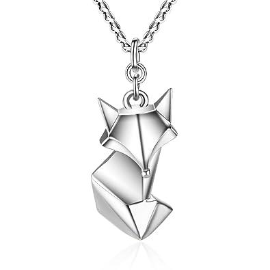 Wristchie Womens Fashion 925 Sterling Silver Purple Crytal Eyes Fox Stud Earrings NNGEV9Ie