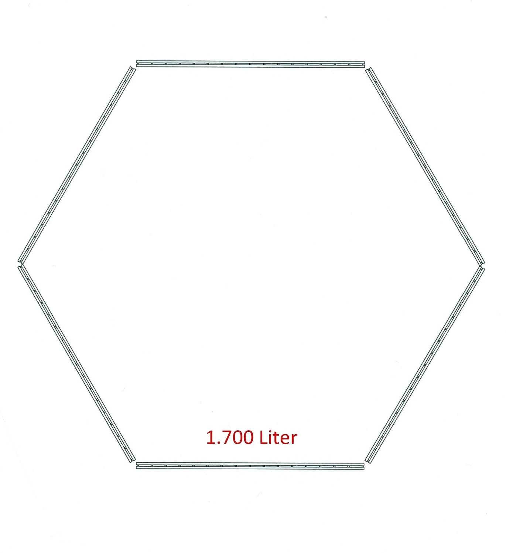 Sia 75565 - Interfaz compostador Hexagon 1700 litros de ...