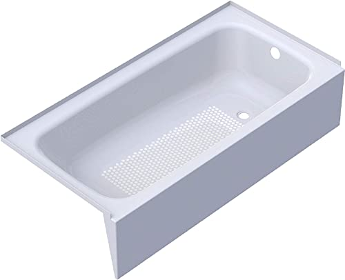 Cayono 60″ x 30″ Soaking Bathtub Drain Location: Right