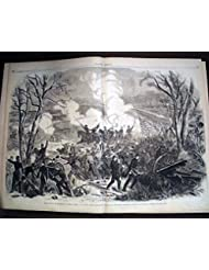 Battle of Shiloh, or Pittsburg Landing - Harper #39;s Weekly, April 26, 1862 original, not a reprint