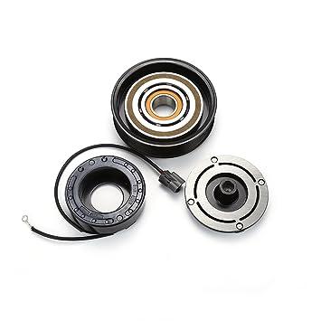 A/C compresor AC Embrague Kit Polea rodamientos placa de bobina para 2003 2004 2005 2006 2007 Honda Accord: Amazon.es: Bricolaje y herramientas