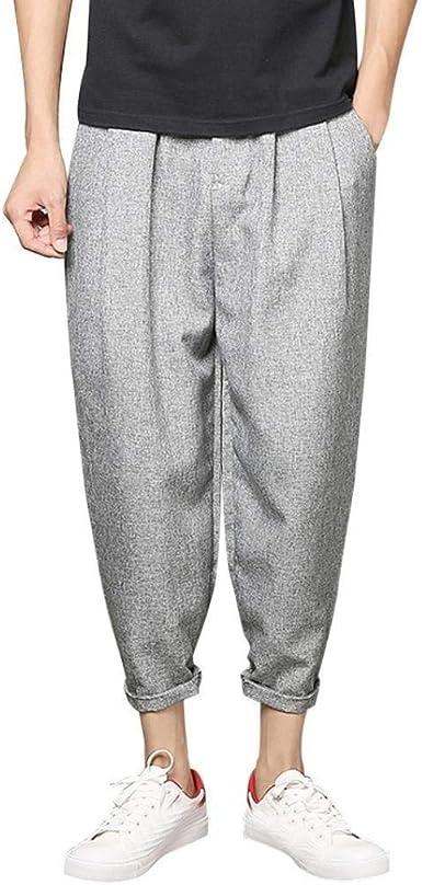 Pantalones De Diseno Para Hombre Pantalones De Mezclilla Moda Elasticos Basicos Pantalones De Vestir Para Hombre Regular Ufige Sport Pantalones De Haren Baggy Para Hombre Amazon Es Ropa Y Accesorios