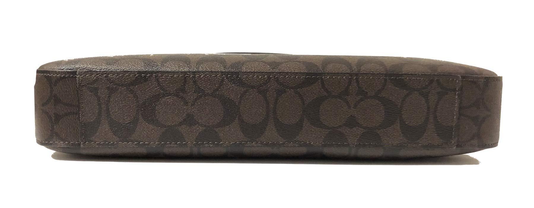 COACH Signature Laptop Bag F39023 Brown/Black by Coach (Image #4)