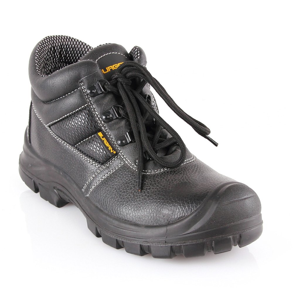 BURGAN 280 Safety Work Boot with Composite Anti-Penetration Midsole and Toe (40 (US Mens 7/Ladies 8))