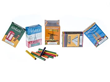 Chocolate Cigarettes Cities Sticks 5 Pack