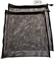Mike Mesh Equipment Bag Drawstring Storage Ditty Shoe Tennis Ball Bags Stuff Sack for Travel & Outdoor Act