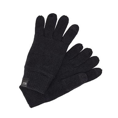 fe97f699fcab06 Jack Jones Handschuhe Herren U Schwarz 12128136 JACDNA GLOVES BLACK ...