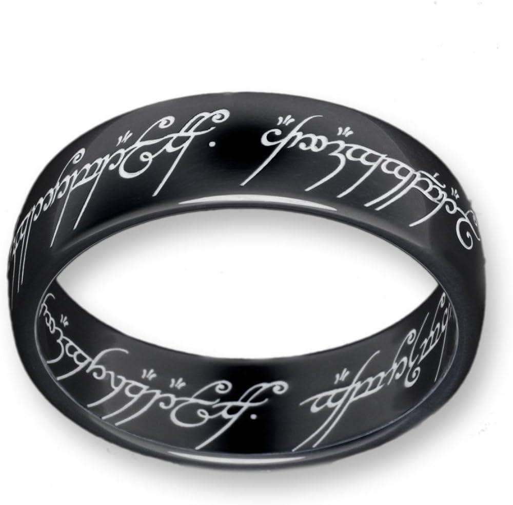 Herr der Ringe Schumann Design Ring Titan-Blackline 2001-062