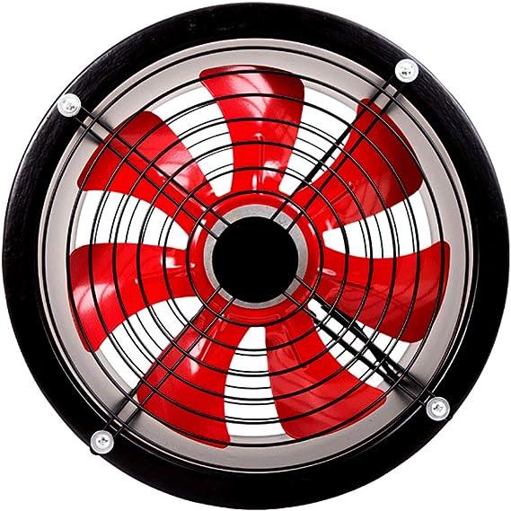 Ventilador Industrial Industrial, Extractor de bajo Ruido de 12 Pulgadas, Extractor de Aire/Campana extractora de Cocina (Negro): Amazon.es: Hogar