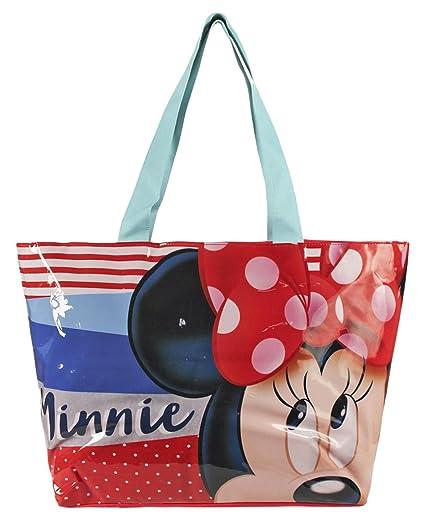 Minnie Mouse 2100001720 Bolsa de Tela y de Playa