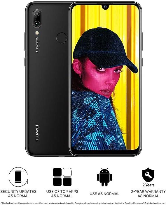 Huawei POT-LX1 P Smart 2019 6.21 Smartphone 64GB Unlocked Sim-Free (Black) B+: Amazon.es: Electrónica