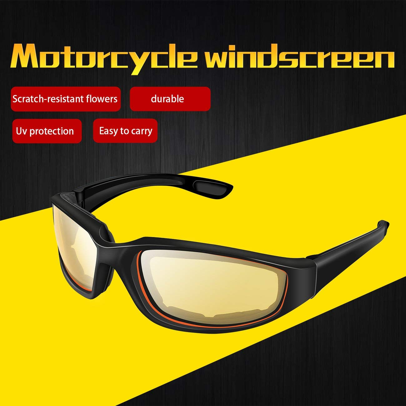Motorcycle Protective Glasses Windproof Dustproof Eye Glasses Cycling Eyeglasses Outdoor Sports Eyewear Glasses