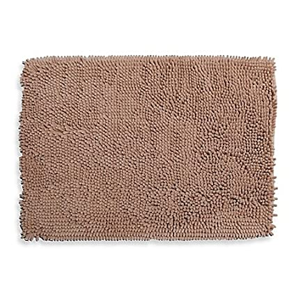 Amazon.com: Super Sponge 21-Inch x 34-Inch Bath Mat (Sand): Home ...