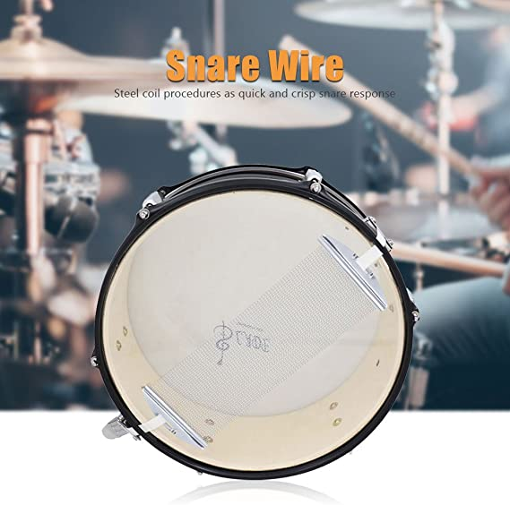 ROWEQPP 14 inch Snare Drum Steel Snare Wire for Percussion Accessories 20 Silk