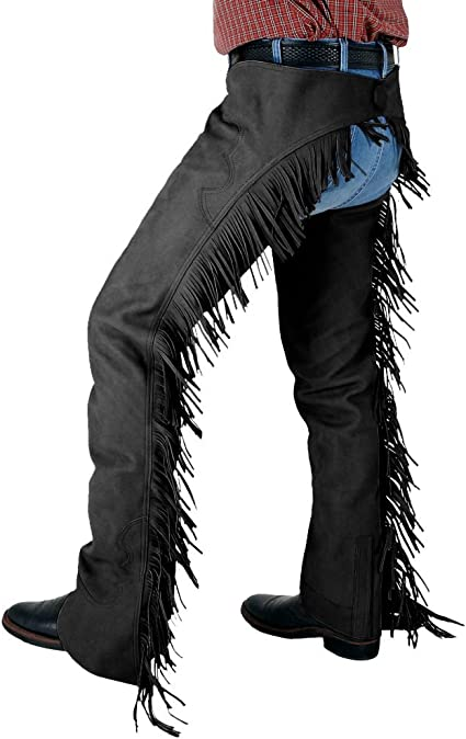 Tough 1 Synthetic Suede Western Show Chaps