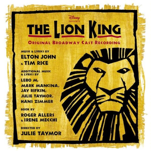 The Lion King Original Broadway Cast Recording