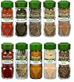 Assorted McCormick Gourmet Organic Everday Essentials Spices Variety Pack, 10 Count