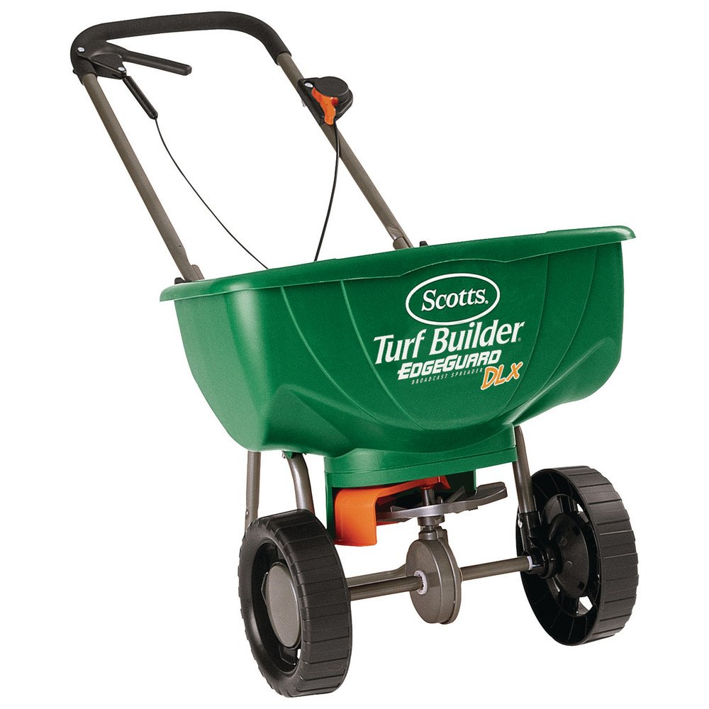 Scotts Turf Builder Edge Guard Deluxe Broadcast Spreader (Case of 3) by Scotts