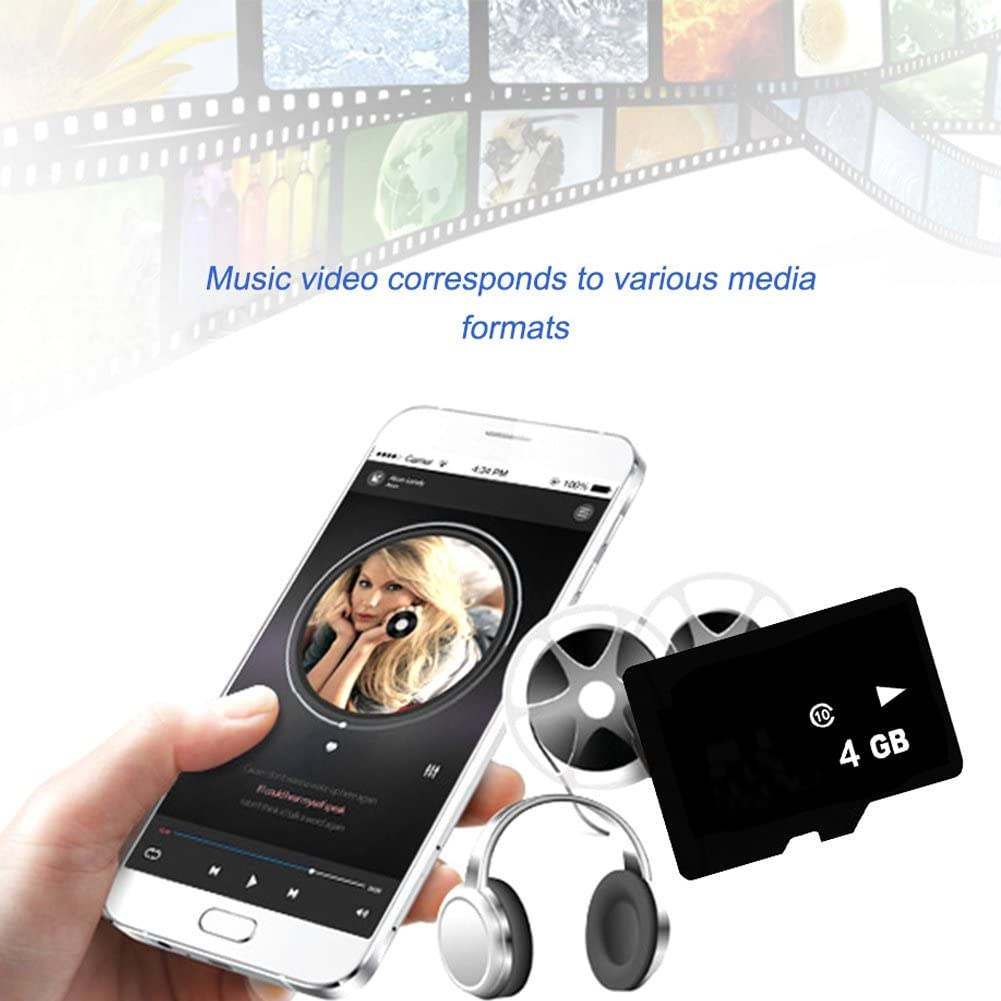 4GB TF card 4 G8 G 16 G 32 G 64 G Class 10 Memory Card with Micro SD Card Adapter for Smart Phone Tablet Monitor Camera