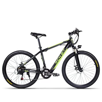 eBike_RICHBIT Electric Mountain Bike bicicleta eléctrica E-bike Ciclismo 250W 36V con batería oculta de