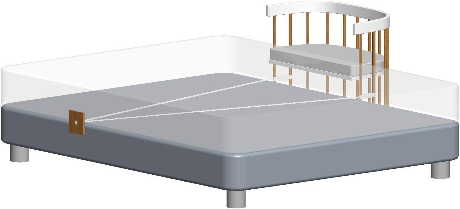 Compatible avec le lit b/éb/é tweeto Tweeto Lit dappoint /à fixer au lit parent//lit /à sommier tapissier