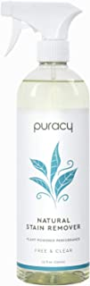 product image for Puracy Natural Laundry Stain Remover, Enzyme-Based Spot Cleaner, Free & Clear, 25 Ounce