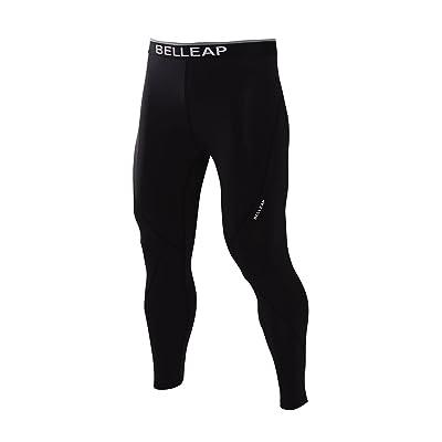 belleap Men's Women's Compression Pants Capri Sportswear Skin tights Base layers